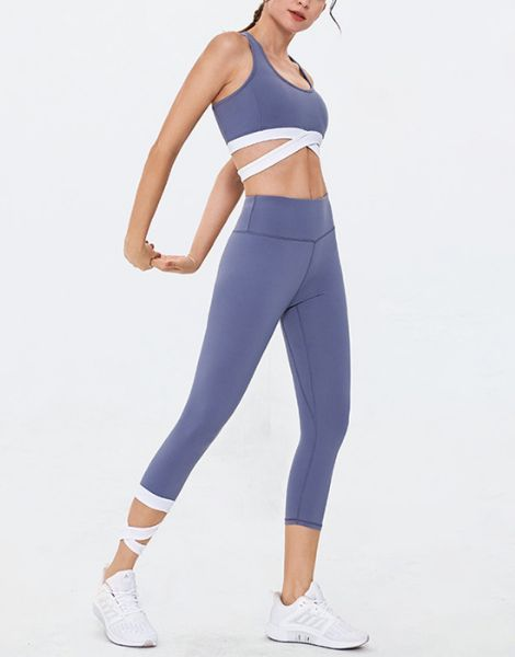 custom gym fitness workout clothing women set