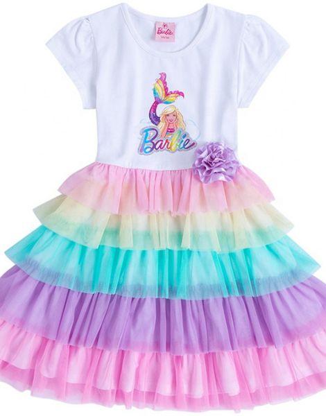 bulk 3D printed polyester little girl dress