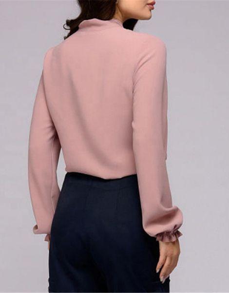 bulk long sleeve chiffon womens shirt