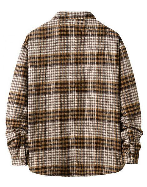 wholesale long sleeve plaid men flannel shirts