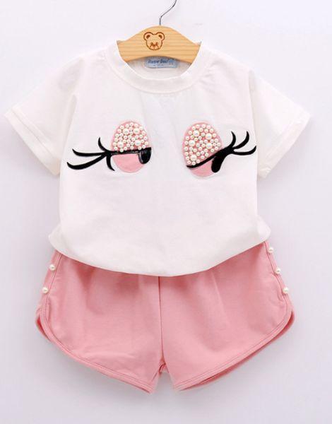 bulk elegant childrens girl boutique clothing set