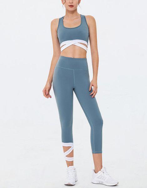 wholesale gym fitness workout clothing women set