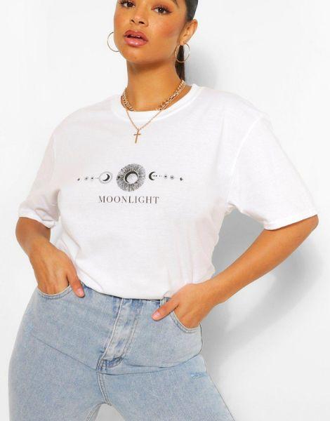 bulk short sleeve printed women's t-shirt