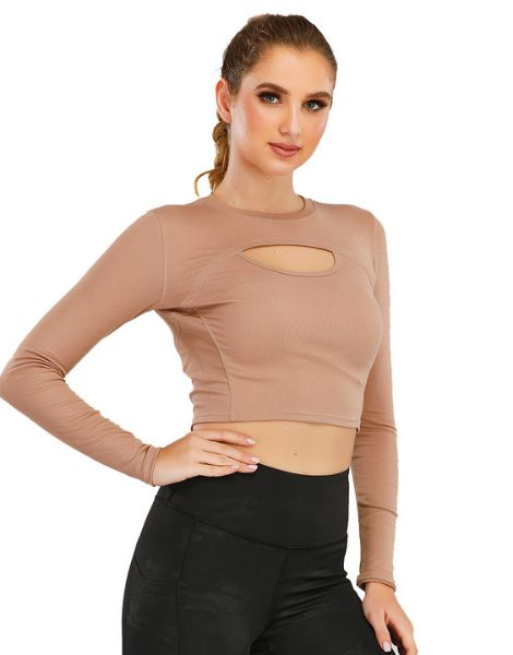 bulk breathable hollow womens yoga clothes set