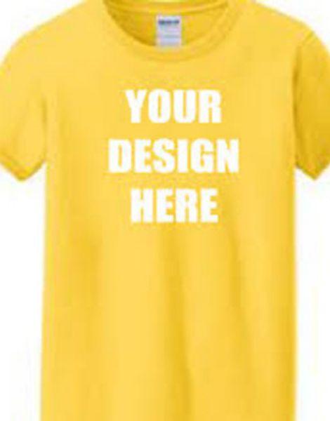 custom short sleeve o neck printed ladies t-shirts manufacturers