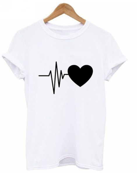 bulk o-neck breathable printed ladies t-shirt