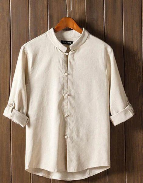 bulk retro button mid sleeve cotton mens t-shirt
