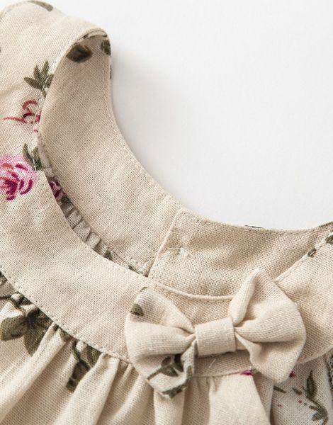 custom crew neck sleeveless little girl dresses manufacturers
