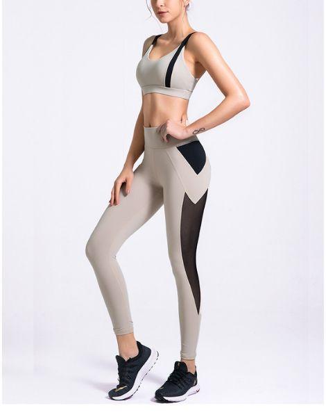 custom high waisted hip raise yoga sets manufacturers