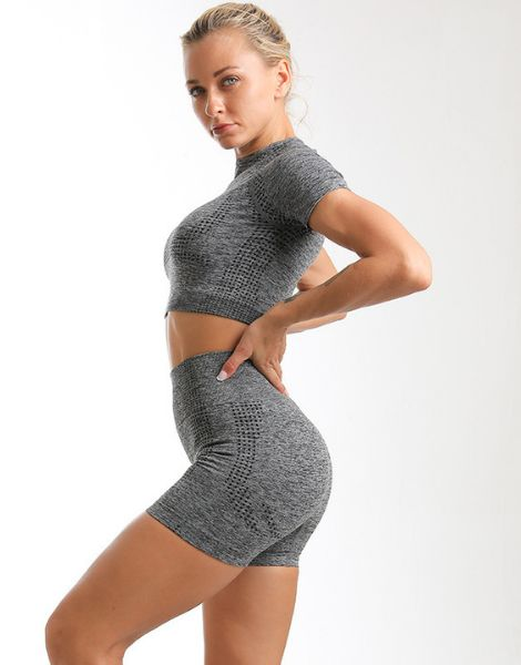 wholesale high waisted spandex women workout clothes