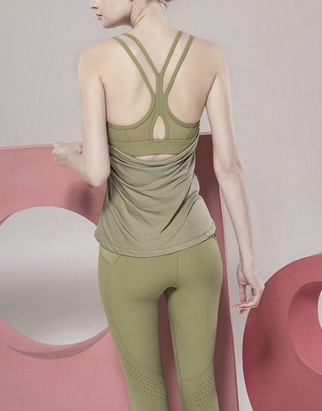 wholesale 2-piece spandex womens summer workout clothes manufacturers
