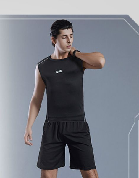 bulk breathable polyester summer workout clothes