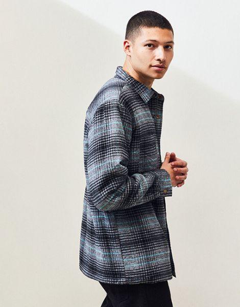 wholesale bulk long sleeve casual mens flannel shirt