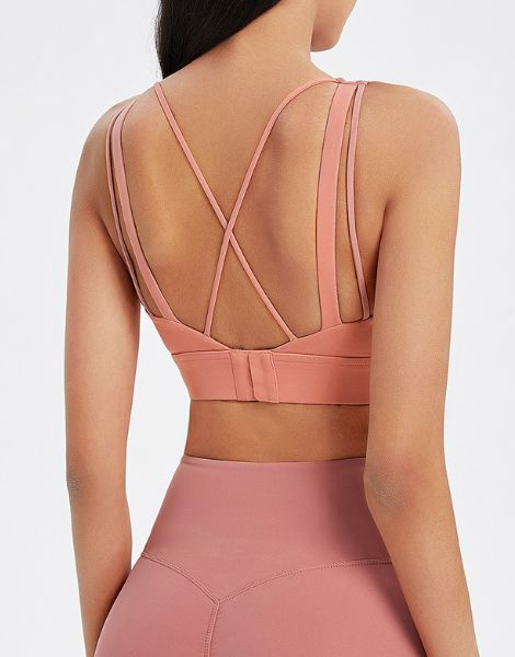 wholesale quick dry womens yoga sports bra