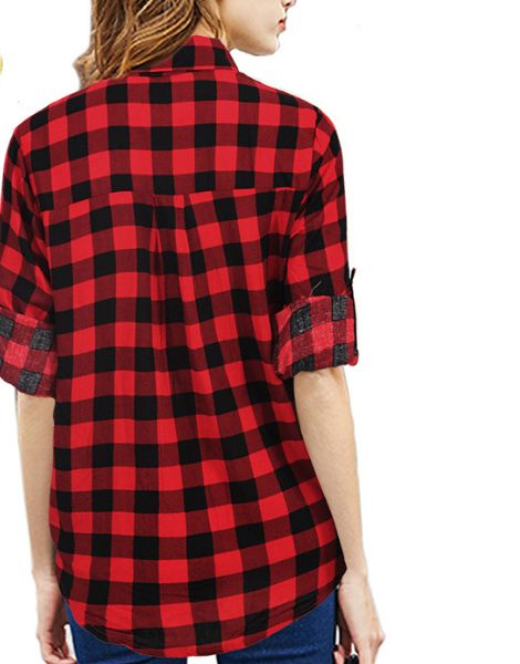 wholesale short sleeved cotton womens flannel shirt manufacturers