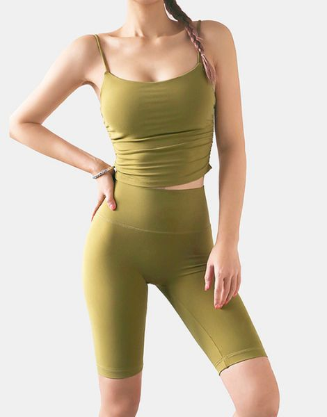 wholesale bulk 2-piece strapless women workout sets