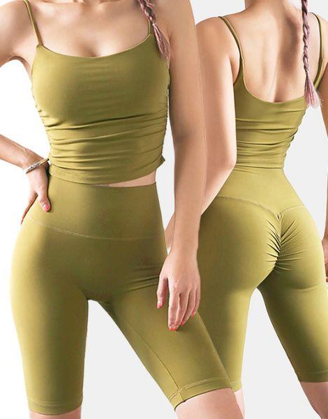 custom 2-piece strapless women workout sets manufacturers