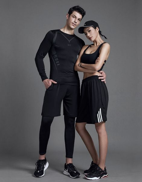 wholesale breathable polyester summer workout clothes manufacturers