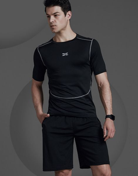 custom breathable polyester summer workout clothes