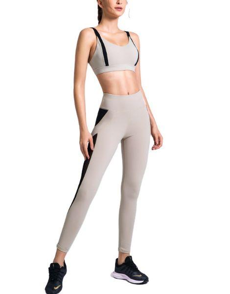 custom high waisted hip raise yoga sets