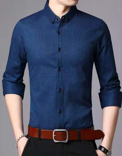 custom long sleeve cotton men's shirts manufacturers