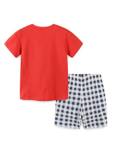 wholesale 2 pcs cotton boy clothing sets manufacturers