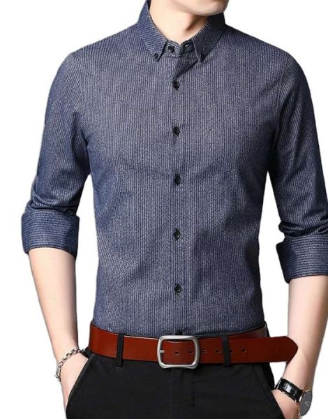 wholesale long sleeve cotton men's shirts