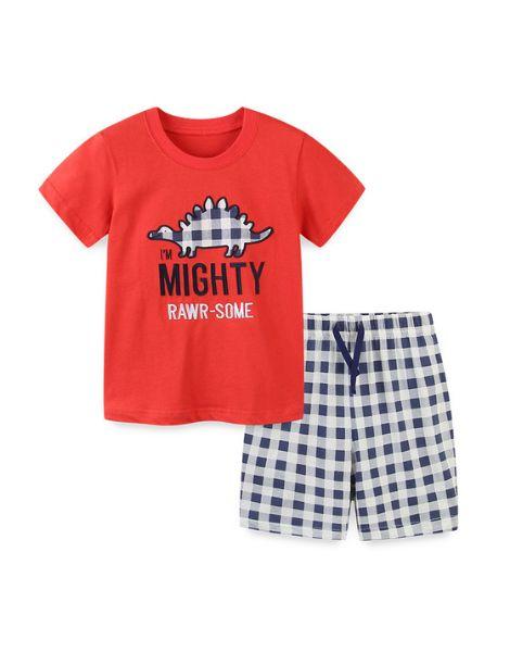 bulk 2 pcs cotton boy clothing sets