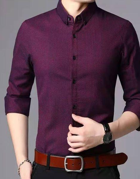 bulk long sleeve cotton men's shirts