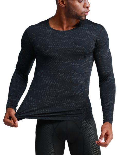 wholesale long sleeve running sportswear for men